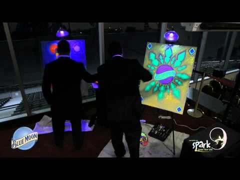 DelawareonlineTV - Awesome time-lapse of the Blue Moon Inspired Live Painting that happened at Spark Party 9! Stay tuned for the Spark Party 9 Recap video to be released soon.