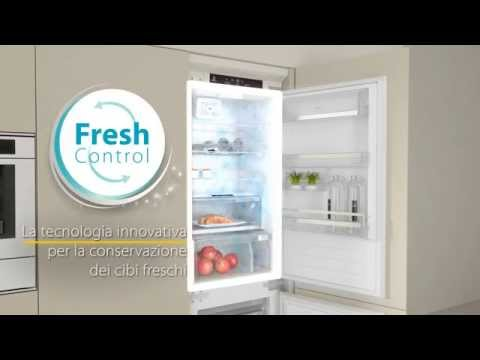 Frigoriferi combinati da incasso Whirlpool con tecnologia 6° SENSO Fresh Control - Gamma 2014