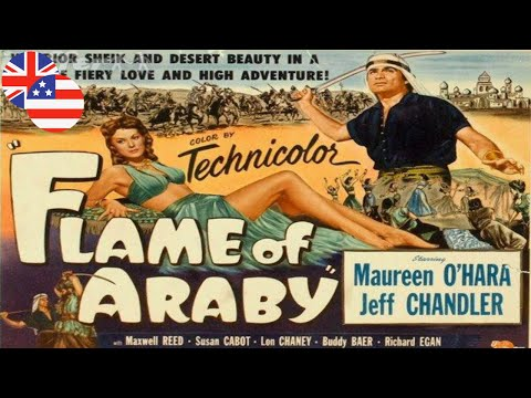 CLASSIC MOVIE - Flame of Araby - 1951