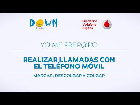 Veure vídeoSíndrome de Down: Aprende a hacer llamadas desde un teléfono móvil