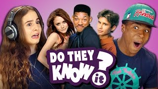 DO TEENS KNOW 90s SITCOMS? (REACT: Do They Know It?)