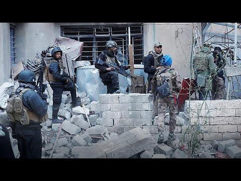 Συνεχίζονται οι επιχειρήσεις του ιρακινού στρατού στη Μοσούλη