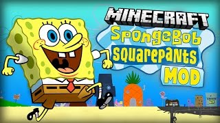"Minecraft Mod | SPONGEBOB MOD - ""Welcome to Bikini Bottom!"" - Mod Showcase"