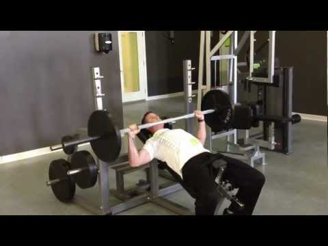 Incline Barbell Bench Press - 28 METHOD