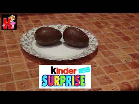 Шоколадное яйцо киндер сюрприз своими руками