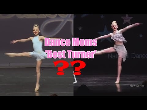 Dancers ranked based on their turns// Dance Moms