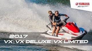 9. 2017 VX, VX Deluxe & VX Limited | Recreational WaveRunners