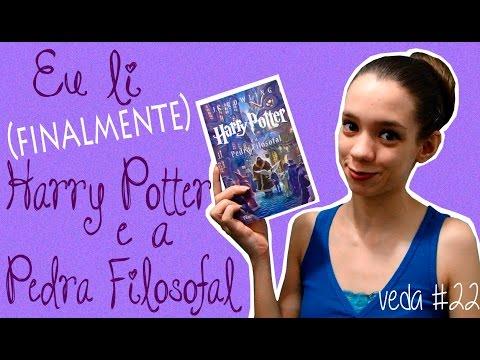 Então eu li Harry Potter e a Pedra Filosofal - VEDA #22 | Sacudindo as Palavras