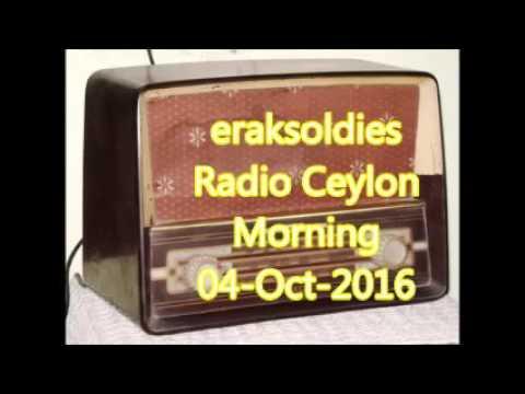 Video Radio Ceylon 04-10-2016~Tuesday Morning~02 Purani Filmon Ka Sangeet download in MP3, 3GP, MP4, WEBM, AVI, FLV January 2017
