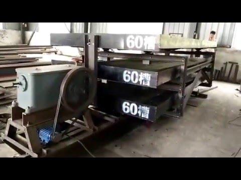 Three 6s dressing shaker test machine