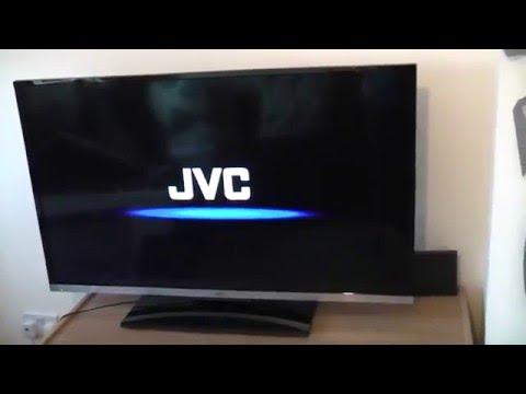 JVC HD Television Unboxing FAIL!!!!