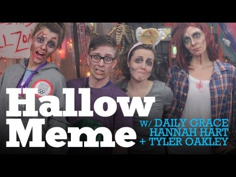 My Damn Channel - What?! Halloween one week early with your favorites Hannah Hart, Tyler Oakley, Grace Helbig, and our fearful host, Beth Hoyt! We also have an EXCLUSIVE extra...