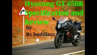 7. Hyosung GT 650 R Specifications and Review