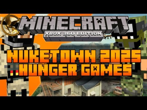 Minecraft (Xbox 360) PVP Map: Nuketown 2025 CTF/TDM [Download In ...