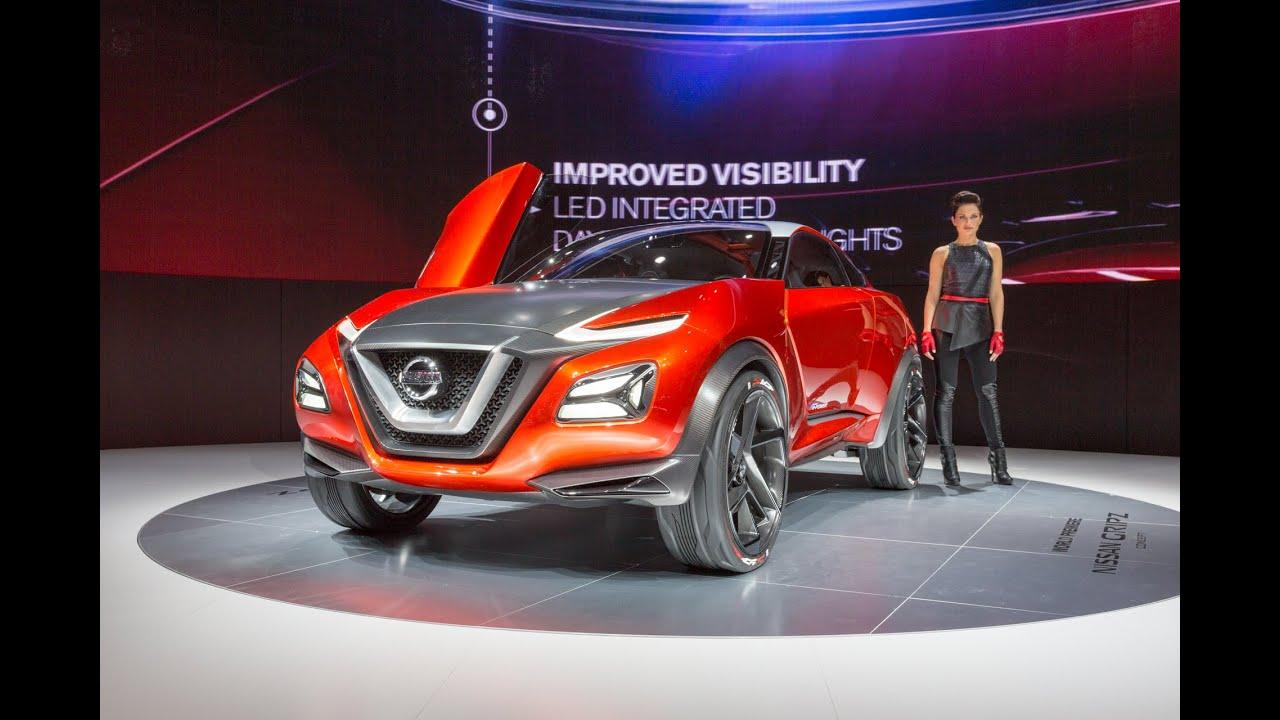 2015 Nissan Gripz Concept: Франкфурт 2015
