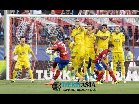 ATLETICO MADRID VS LAS PALMAS COPA DEL REY ALL GOALS 10/01/17 [HD]