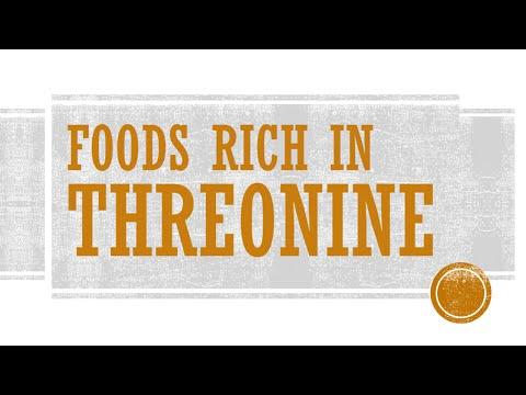Foods Rich in Threonine - Foods High in Amino Acid - BENEFITS OF WELLNESS