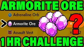 POKEMON CHALLENGE: How Many Armorite Ore Can You Get IN ONE HOUR? Pokemon Sword and Shield DLC Guide by Verlisify