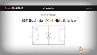 BSF Bochnia – Nbit Gliwice (6 kolejka) - skrót