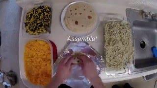 Low-Calorie, Low-Cost Burritos! #mealprepsunday