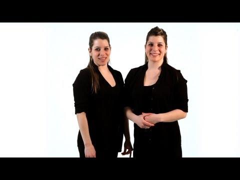 Клубные танцы от Авы и Лоретты. Видео урок.