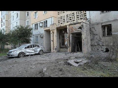Из артиллерии обстрелян центр Донецка, 2 погибших
