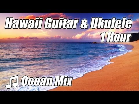 HAWAIIAN MUSIC Instrumental Study Playlist Classical Guitar Island Music for Studying Ukulele Hawaii