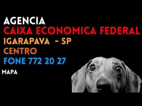 ✔ Agência CAIXA ECONOMICA FEDERAL em IGARAPAVA/SP CENTRO - Contato e endereço