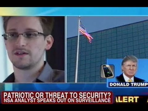 Donald Trump Goes After 'Grandstander' NSA Leaker Edward Snowden On Fox