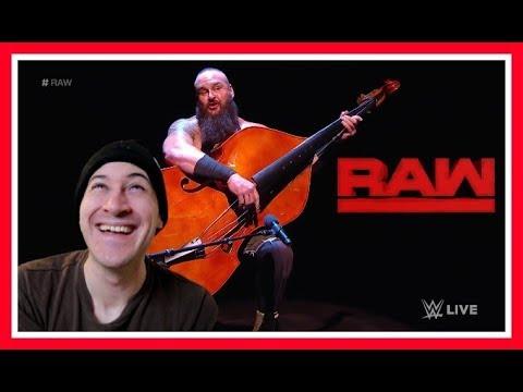 Reaction   Braun Strowman Bashes Elias WITH A BASS!!!   WWE Raw Feb. 12, 2018