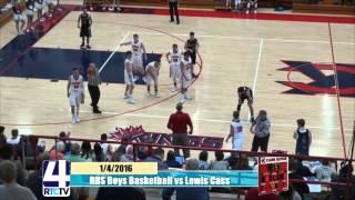 Rochester High School Boys Basketball vs Lewis Cass