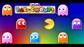 PAC-CHOMP! namco YouTube video