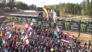 """Francijas motokrosistu triumfs """"Motocross of Nations"""" Ķegumā"""