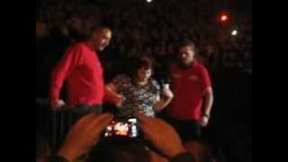 Beth Ditto The Gossip covers Tina Turner live Berlin Velodrom 18.11.2012