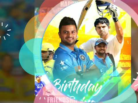 Video Happy birthday to Suresh Raina download in MP3, 3GP, MP4, WEBM, AVI, FLV January 2017