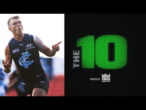 The 10: The best moments from Round 17, 2020 | AFL