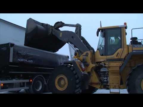 iFOCUS Första malmtransporten från Kaunisvaara 7 dec 2012