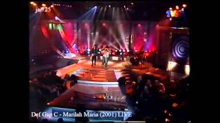 Video Def Gap C - Marilah Maria (2001) LIVE MP3, 3GP, MP4, WEBM, AVI, FLV Juni 2018