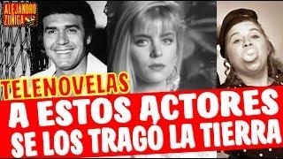 SE LOS TRAGO LA TIERRA  a estos actores de telenovelas