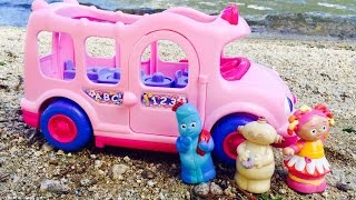 IN THE NIGHT GARDEN TOYS Beach Day On Pink Bus!