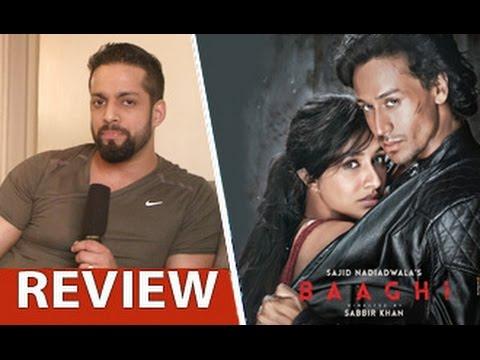Baaghi-Review-by-Salil-Acharya-Tiger-Shroff-Shraddha-Kapoor-Sudheer-Babu-Full-Movie-Rating