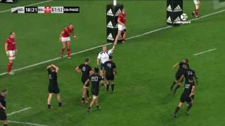 All Blacks v Wales First Test 2016 | Rugby Video Highlights