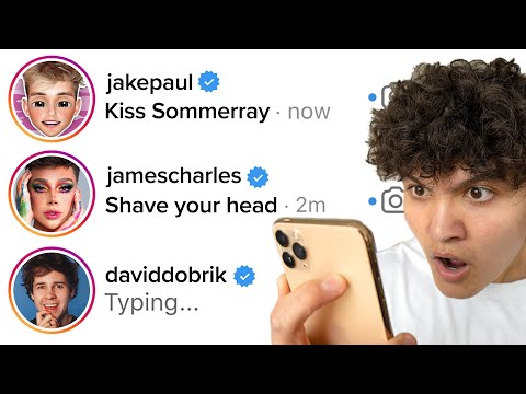 DMing 100 YouTubers Asking For A Dare (they respond)