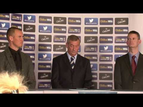 fifth - LIVE: William Hill Scottish Cup Fifth Round Draw // Kenny Miller conducts draw.