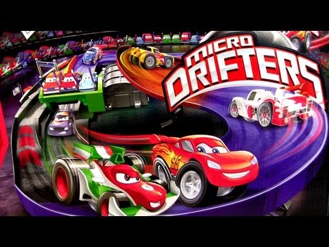 Cars 2 Micro-Drifters Motorized Super Speedway Disney Pixar Tokyo Track from Mattel