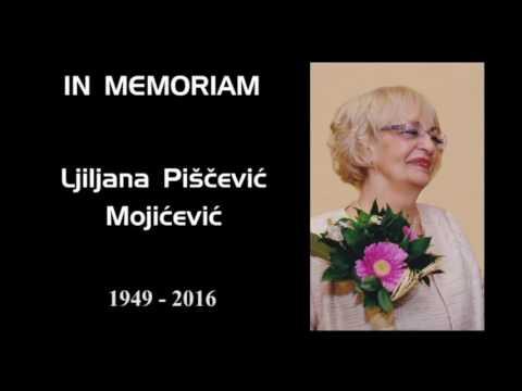IN MEMORIAM – ДР ЉИЉАНА ПИШЧЕВИЋ МОЈИЋЕВИЋ