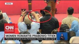 Video Melihat Momen Romantis Prabowo -Titiek MP3, 3GP, MP4, WEBM, AVI, FLV Januari 2019