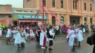 2009 Kernewek Lowender Moonta May pole dances part 2 [HD] http://www.chrysler-restorers-sa.org.au/ http://www.kernewek.org/