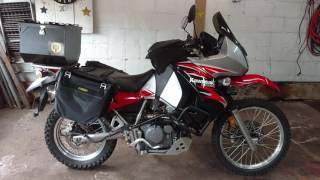 10. 2008 Kawasaki KLR 650 Modifications