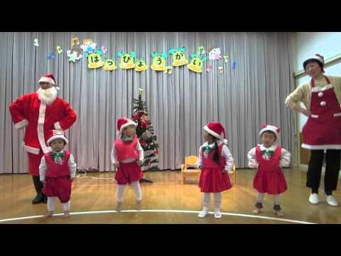 中通保育園りす組「クリスマスのうたがきこえてくるよ」